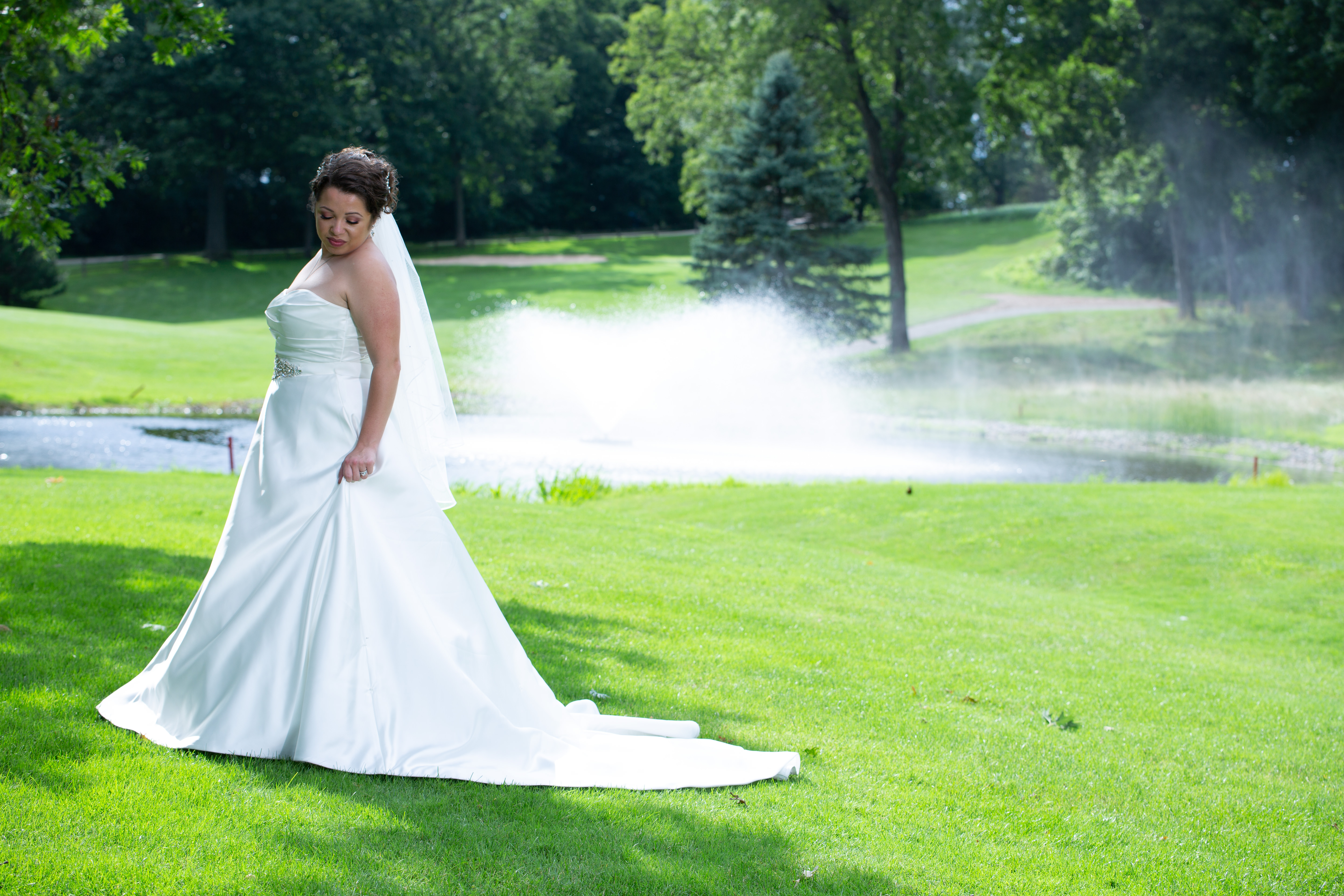 Wedding photography at Koshkonong Mounds Country Club