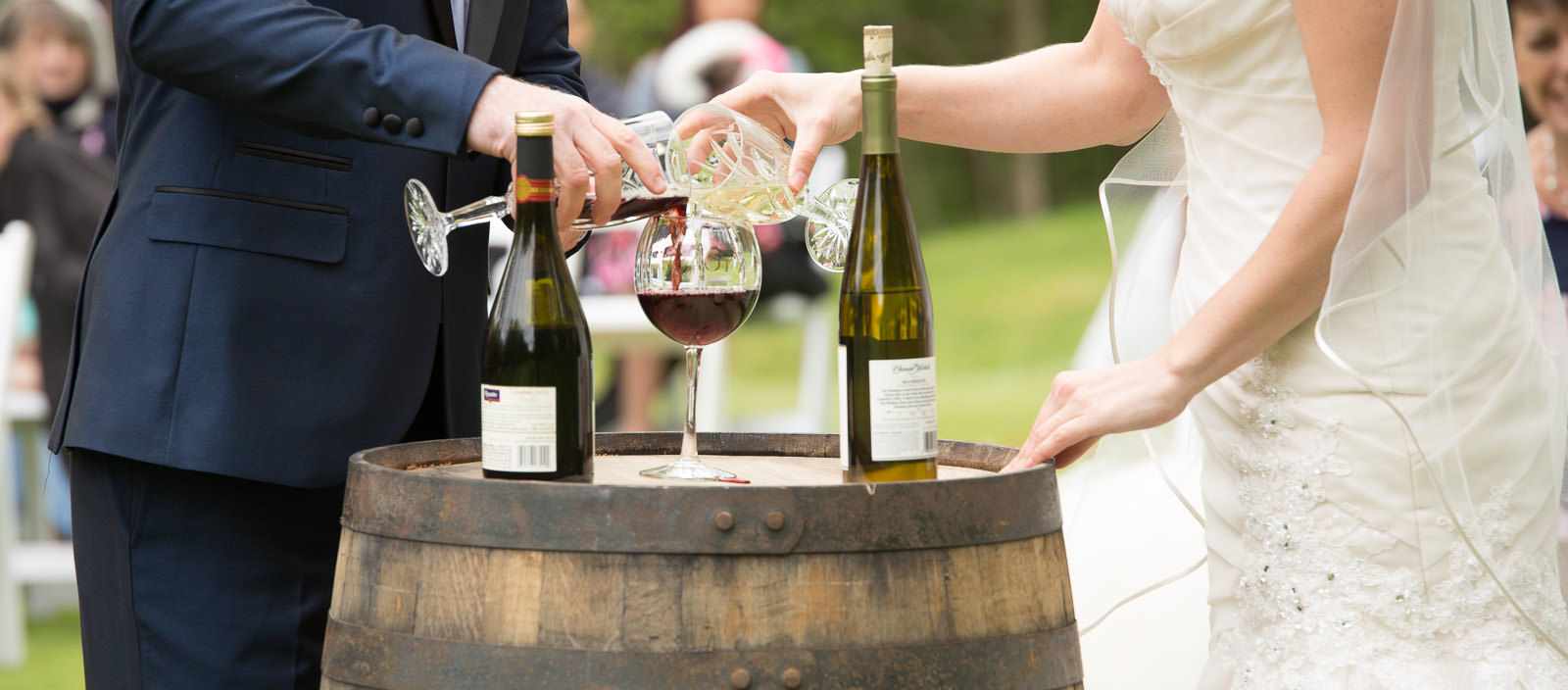 Wedding photography at Wilderness Resorts